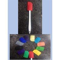 Silicone Spatula With Pp Plastic Stick