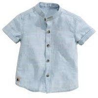 Chinese Collar Stylish Kid Shirts