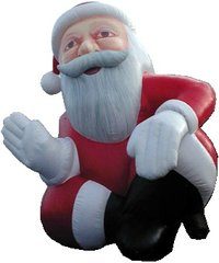 Christmas Inflatables Santa Claus