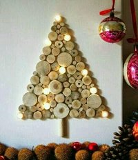 Designer Wooden Christmas Tree
