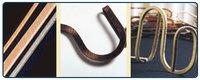 Fibre-Covered Rectangular Copper Strips