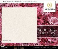 Graphica Rose Multi Charged Vitrified Tiles
