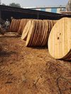 Durable Wooden Cable Drum