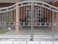 Steel Metal Main Gates