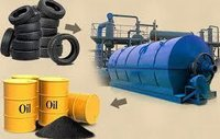 High Performance Waste Tyre Pyrolysis Plant