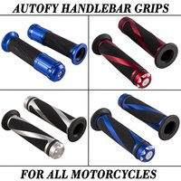 Autofy Handle Bar Grips For All Motorcycles And Bike