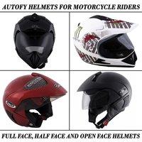 Autofy Universal Flip-Up Helmets For Motorcycle Riders