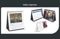 2018 Table Calendar