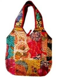 Cotton Kantha Bag