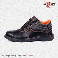 cae9cf98e022c9 Beston PVC Single Density Safety Shoes