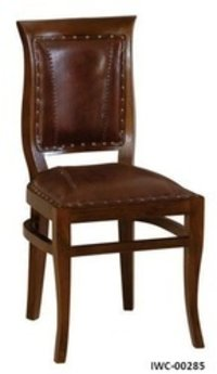 Brown Color Wooden Restaurant Chair