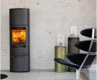 Cosmo 1500 in black wood stoves