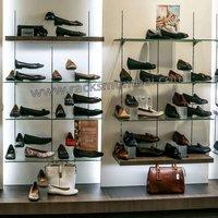 Rigid Shoes Store Display Racks
