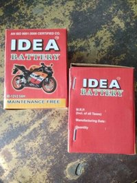 12 Volt Motorcycle Batteries