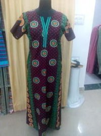 Ladies Printed Cotton Kaftan