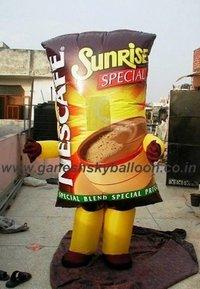 Customized Advertising Walking Inflatable