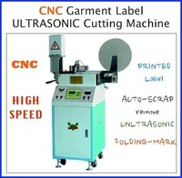 Cnc Garment Label Ultrasonic Label Cutting Machine