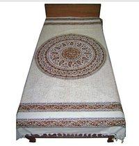 Kalamkari Single Bed Sheet