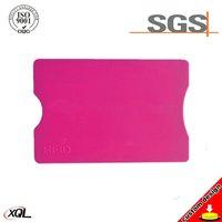Customized Logo Printing Card Protector RFID Sleeve