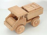 Beech Wood Large Blocks Truck Toy