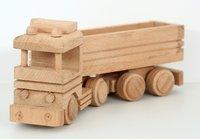 Vintage Wooden Toy Truck For Kids