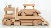 Wooden Car Transporter Truck Toy