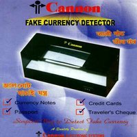 Fake Currency Detector Machine