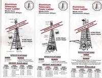 Aluminium telescopic tower Ladders