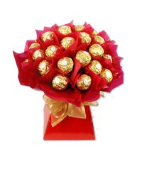 16 Pcs Ferrero Rocher Chocolates Bouquet