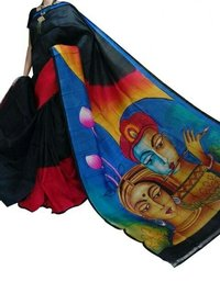 Hand Painted Silk Sarees