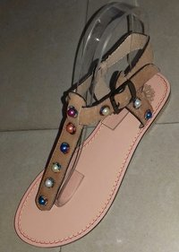 Ladies Genuine Leather Sandals