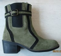 Ladies Leather Boots (Nz-786-002)