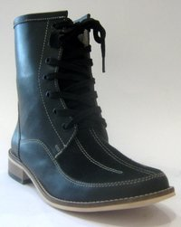 Ladies Leather Boots (Nz-786-004)
