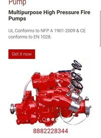 Vehicle Mounted Fire Pumps