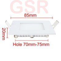 6w Kit For Round Square Panel Led Light