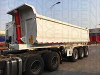 3 Axle 65 Tons Semi Dump Tipping Trailer