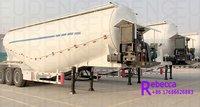 3 axles 50000kg Flour Bulker Cement Silo Tanker Trailer