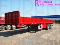 35 Ton Capacity Sidewall Semi Trailer Cargo Fence Trailer