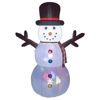 Christmas 8 Ft Inflatable Flashing Snowman