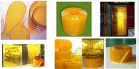 Insect Amber Pvc Strip Doors
