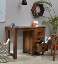 Handcrafted Study And Laptop Table