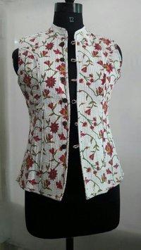 Ladies Printed Quilt Jackets