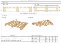 China Wood Pallet Designing Software