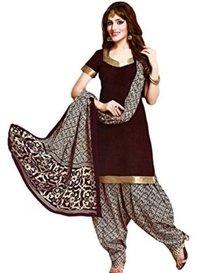 Coffee Colored Fancy Salwar Suit in Delhi
