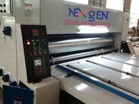 Chain Feeding Printer Slotter Machine