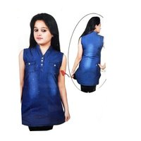Ladies Denim Kurti
