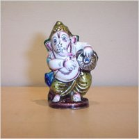 Ganeshji With Dabli Statue