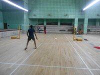 Oak Wood Badminton Flooring