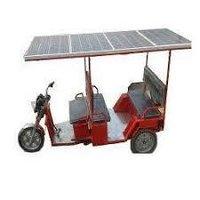 Solar Roof E Rickshaw