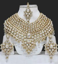 Heavy Bridal Necklace Set
